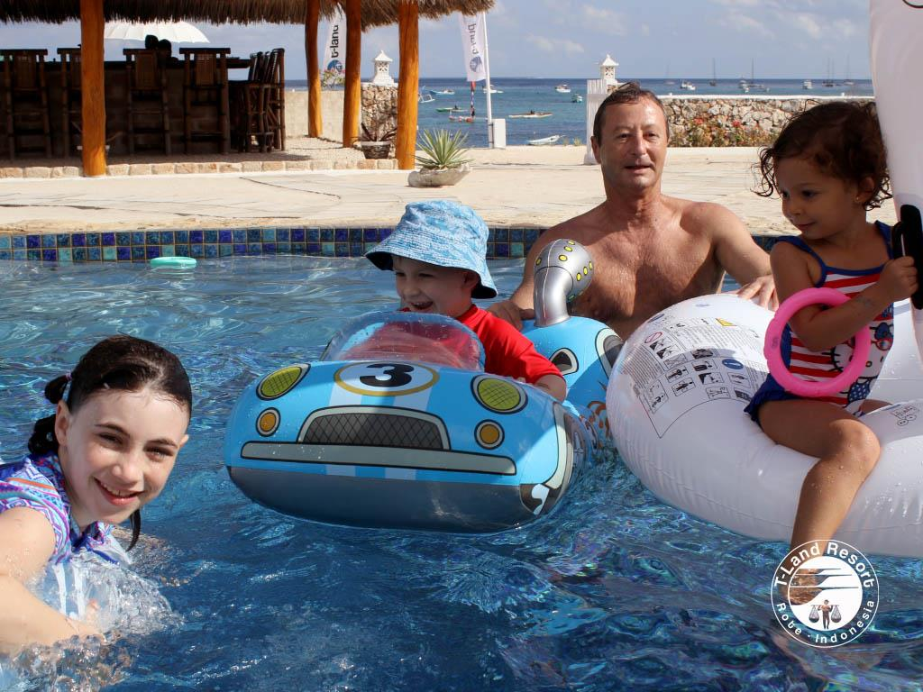 tland pool - family time - surf holidays